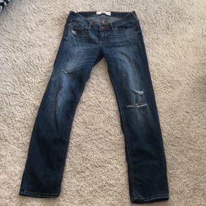 Denim - Hollister distressed jeans